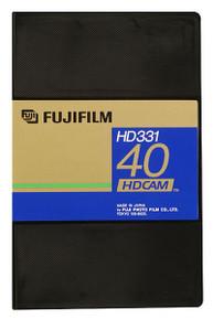 Fuji 40 Minute Small HDCAM Videocassette