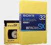 Sony Betacam SX 94 Minutes Large Shell Blank Video Tape