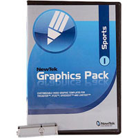Newtek Graphic Pack for Sports, Volume 1