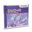 Verbatim DVD+R 16X 4.7GB Branded Single Disc