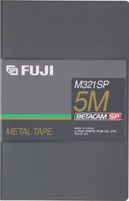 Fuji M321 Betacam SP 30 Minute Blank Video Tape