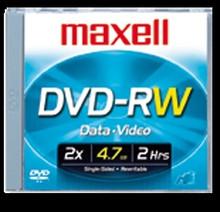 Maxell DVD-RW 4.7GB 2X Rewritable Disc