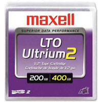 Maxell 200/400GB LTO 2 Data Cartridge Tape