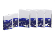 Sony HDV Tape 124 Minutes