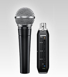 Shure Cardioid Microphone with USB Signal Adapter