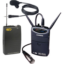 Samson Portable Wireless Lavalier Microphone System