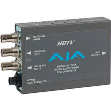 Aja SDI/HD-SDI to Analog Audio/Video Converter
