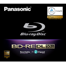 Panasonic Dual Layer Blu-ray Rewritable Disc
