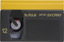 Fuji DVCPRO 66 Minute Large Shell Blank Video Tape