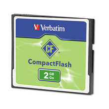 Verbatim 2 GB Compact Flash Card