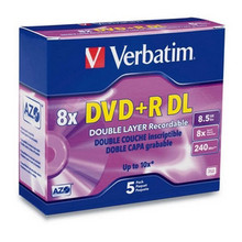 Verbatim Dual Layer DVD+RDL Discs