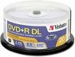 Verbatim DVD+R Double Layer 8.5GB 8X Branded Discs, 20/