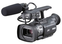 JVC SDHC Compact Handheld 3-CCD Camcorder