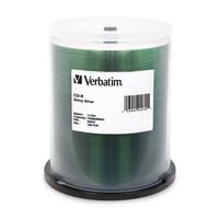 Verbatim CD-R 80 Minutes, Silk Screenable,100 per Spindle