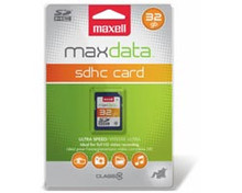 Maxell 16GB Flash Memory Card