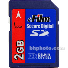 Delkin 2GB eFilm SD Memory Card