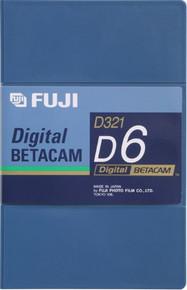 Fuji Digital Betacam 94 Minute Blank Video Tape
