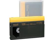 Maxell DVC PRO Tape 126 Minute Blank Audio Cassette