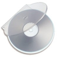 C-Shell CD-R Clear Case