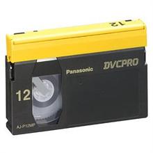 Panasonic DVC PRO 12 Minute Medium Shell Blank Video Tape