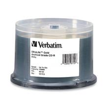 Verbatim Ultralife Archival Grade CD-R Discs