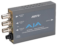 Aja HD/SD 4-Channel Analog Audio Embedder/Disembedder