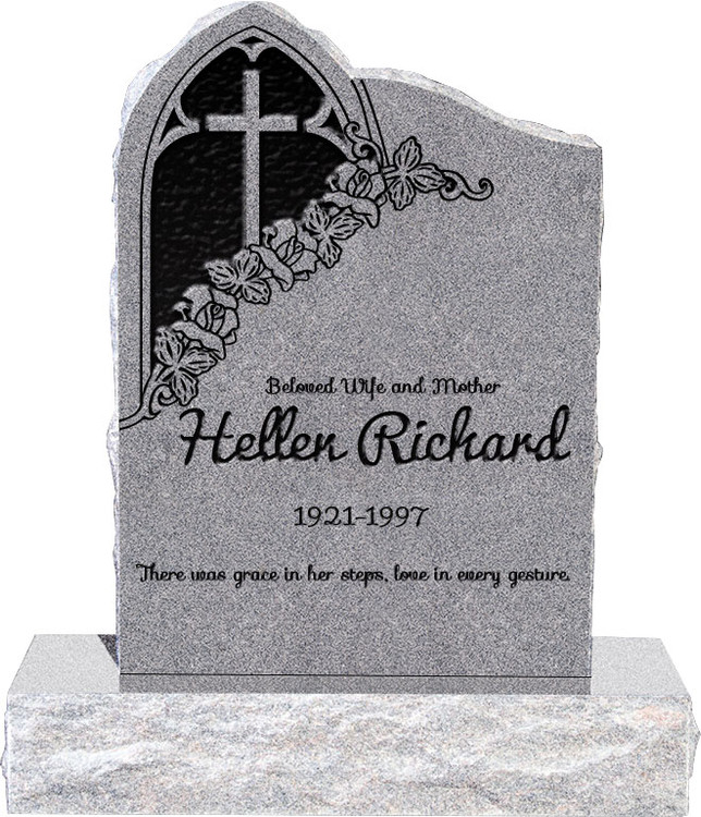 Gothic Headstone with 34