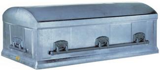 Platinum Stainless Steel - Overnight Caskets