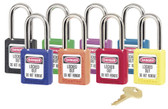 410 Master Lock Lightweight Thermoplastic Safety Padlock