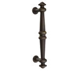 Emtek Lost Cast Wax Bronze Recoleta Pull