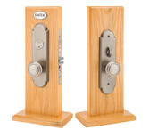 Emtek Charleston Mortise Style Entrance Lockset