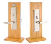 Emtek Manhattan Mortise Style Entrance Lockset