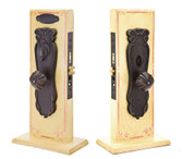 Emtek Art Nouveau Mortise Style Entrance Lockset
