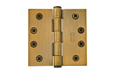"4-1/2"" x 4-1/2"", Square Corners Heavy Duty Plain Bearing, Solid Brass"