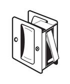 Don-jo Pocket Door Lock PDL 100