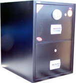 BIF-200 - Fire-Proof Filing Cabinet with Digital Dial in Black