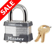 Master Lock 1DCOM Padlock- Sale is for Keyed Different Only