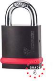 Mul-t-lock NE10L Padlock w/ 10mm C1 Boron shackle Grade 4