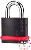 Mul-t-lock 7X& NE10G-L1 Padlock w/C1 Boron shackle Grade 3