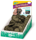 Rock Key Hider 24/Counter Display, Assorted