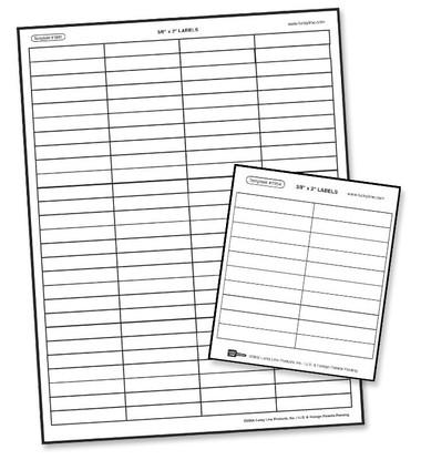 "File-A-Key Tab Labels 3/8"" x 2"" Clear Labels(12 Shts/bag, 4-1/4"" x 5"" Sht (20 labels/sht)"