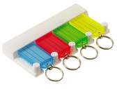 4-Key Tag Rack - 1/Blister Card