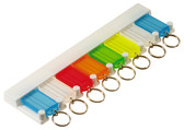 8-Key Tag Rack - 1/Blister Card