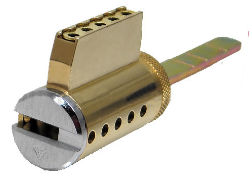 High Security Mul-T-Lock Key in Knob Cylinder - for Knobsets & Levers