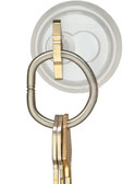 "Tamper-Proof Key Rings -  Solid - 1"" (3cm) Diameter, 14 Key Capacity"