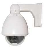 Vandalproof Mini PT Dome camera Weatherproof Outdoor IP66 RS485 Pelco D/P supported 4-9mm Manual Zoom Lens