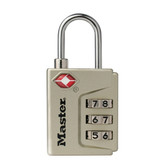 TSA-Accepted Combination Locks - No. 4687DNKL Master Padlock