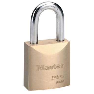 Master Solid Body Padlocks - No. 6850K