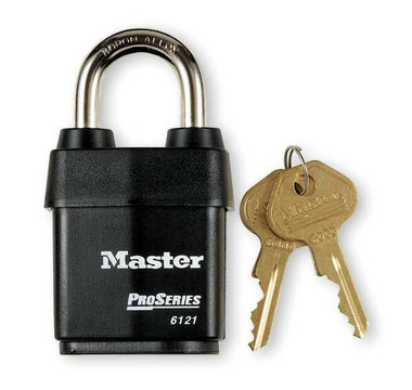 Master Lock 6121 Pro Series Covered Laminated Padlock