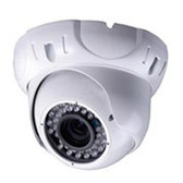 LIRDS Vandalproof IR Dome Camera IR LED: ¢5X36PCS IR LED working distance: 30M OSD Menu controlled by cable button 2.8-12mm Manual Zoom Lens (2M Pixels)